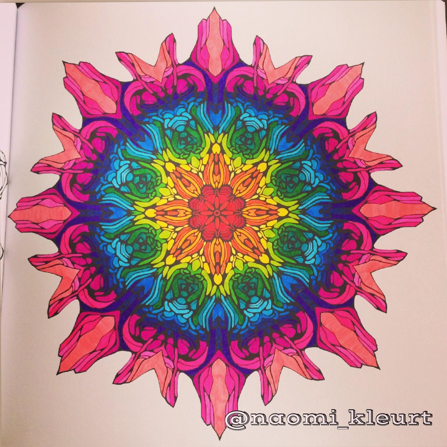 Review: het derde enige echte mandala kleurboek voor volwassenen ...